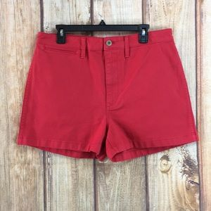 💸NWT MADEWELL | Red Short Size 32